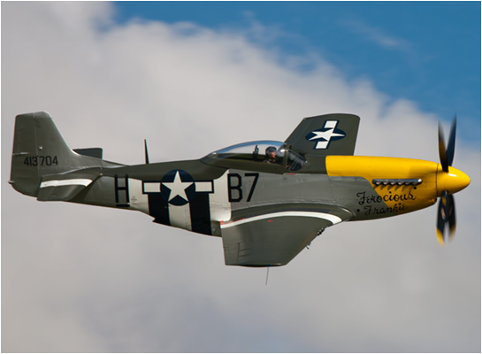 North American P51d Mustang Fearless Frankie